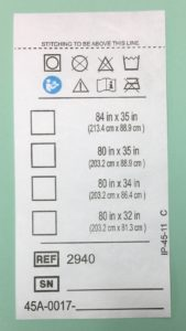 tyvek label